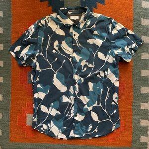 Calvin Klein Floral Button-Up Shirt